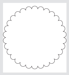 Try This While Im Gone Artistic Avenger Jpg 293x321 Round Scalloped Edge Template